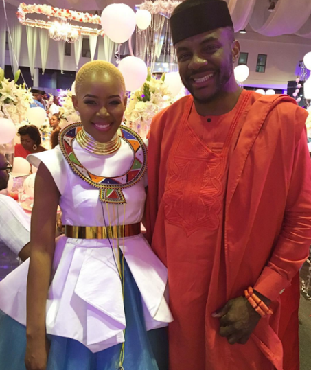 Tosyn Bucknor and Boyer Aurelien White Wedding LoveweddingsNG6