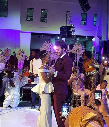 Tosyn Bucknor and Boyer Aurelien White Wedding LoveweddingsNG7