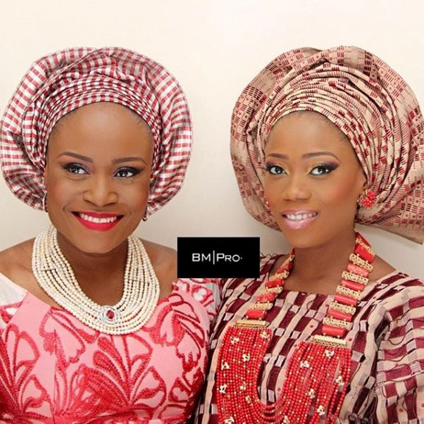 Tosyn Bucknor and Boyer Aurelien #YoruFrench Traditional Wedding LoveweddingsNG 1