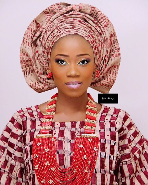 Tosyn Bucknor and Boyer Aurelien #YoruFrench Traditional Wedding LoveweddingsNG