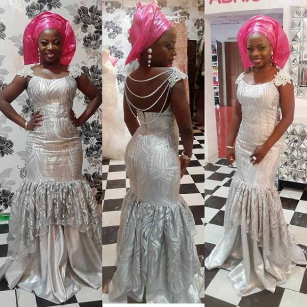 Ubi Franklin and Lilian Esoro Traditional Wedding LoveweddingsNG Aso Ebi