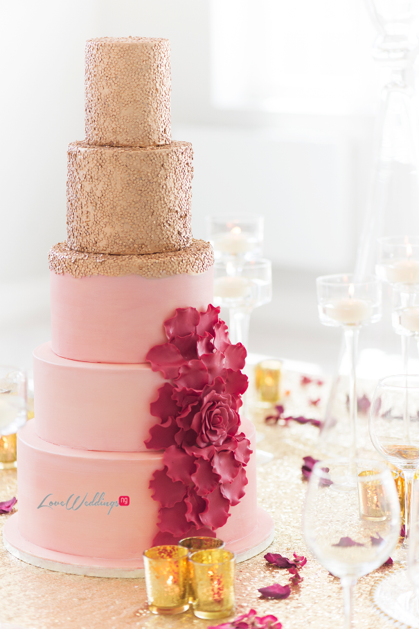 Wedding Cake - QCakes LoveweddingsNG1