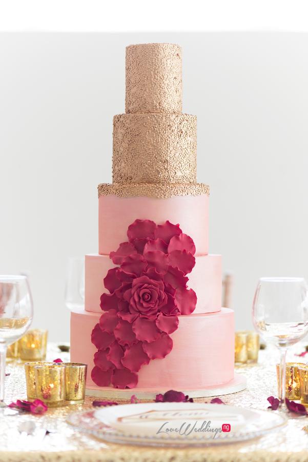 Wedding Cake - QCakes LoveweddingsNG2