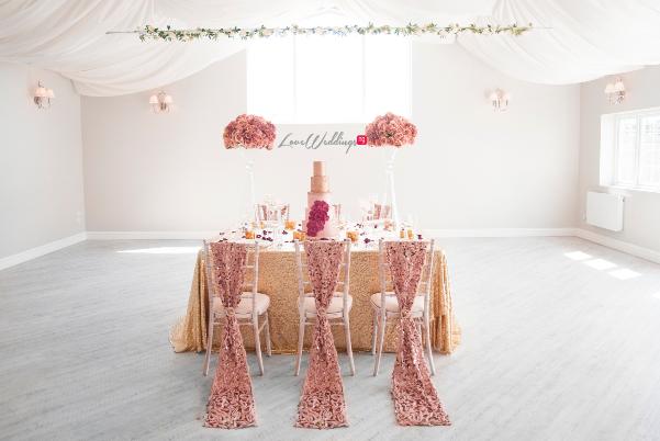 Wedding Floral and Event Design - Afmena Events LoveweddingsNG
