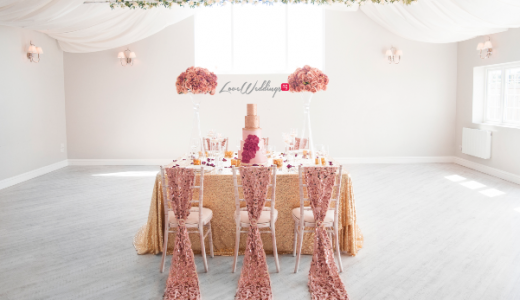 Wedding Floral and Event Design - Afmena Events LoveweddingsNG