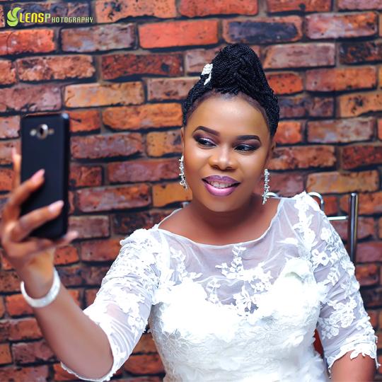 Chidinma Ekile's sister - Gift weds Chucks LoveweddingsNG 1