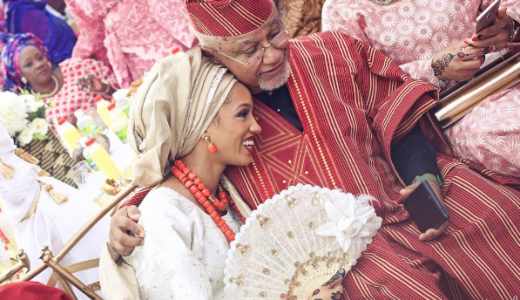 Di'Ja and Rotimi Traditional Wedding Pictures LoveWeddingsNG 1