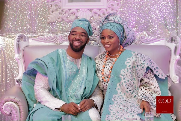 Liz Awoliyi and Tosin Osho's Traditional Engagement LoveweddingsNG 1