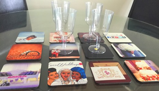 LoveweddingsNG Product Review Snapfish Personalised Coasters 1
