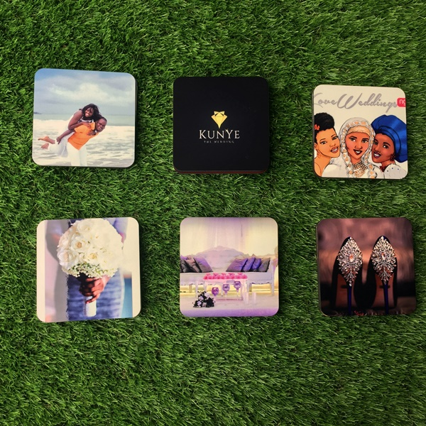 LoveweddingsNG Product Review Snapfish Personalised Coasters 4