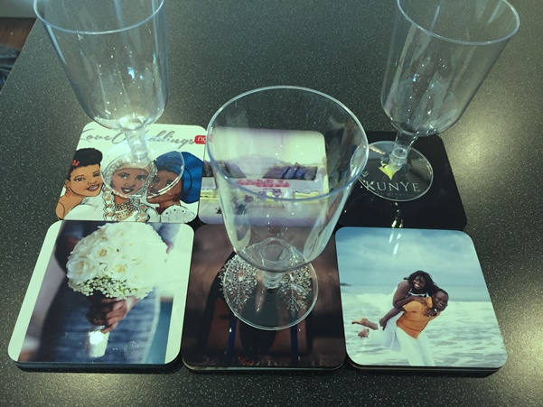 LoveweddingsNG Product Review Snapfish Personalised Coasters 5