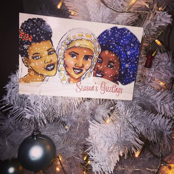 Merry Christmas LoveweddingsNG Christmas Card Manolaluxe
