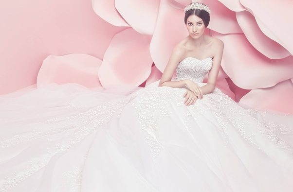 Michael Cinco Spring Summer 2016 Bridal Collection LoveweddingsNG6
