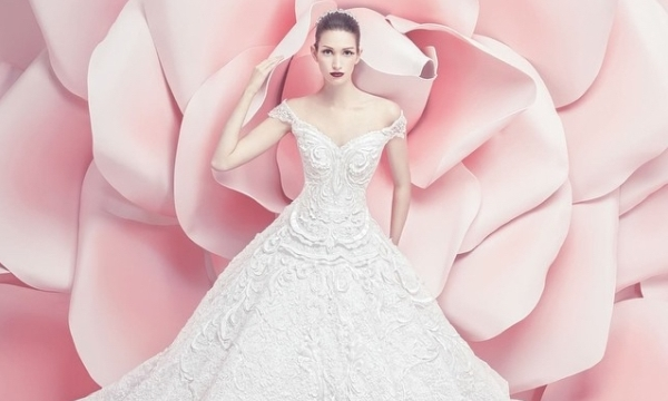 Michael Cinco Spring Summer 2016 Bridal Collection LoveweddingsNG7