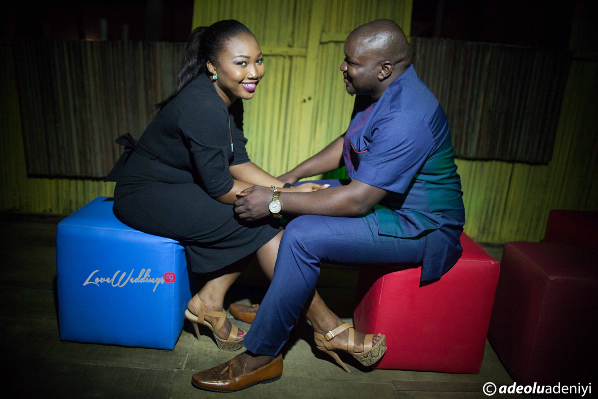 Nigerian Engagement Session - Oluwatosin and Imoleayo LoveweddingsNG Adeolu Adeniyi