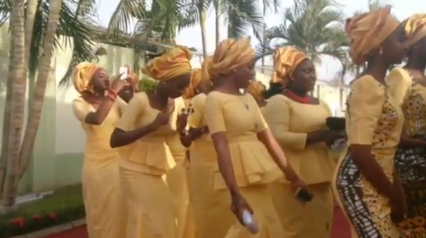 Nigerian Mavin DiJa Traditional Wedding LoveweddingsNG 4
