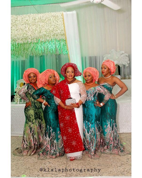 Nigerian Traditional Intertribal Wedding - Margaret & Duro - LoveweddingsNG Klala Photography 7