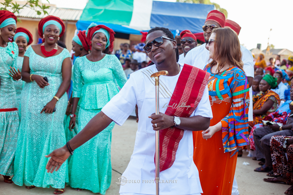 Nigerian Traditional Wedding Pictures - Elisabeth and Fabia Diko Photography LoveweddingsNG 5