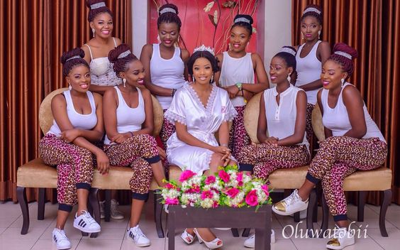 Nigerian Wedding Alternatives to bridal robes LoveWeddingsNG 3