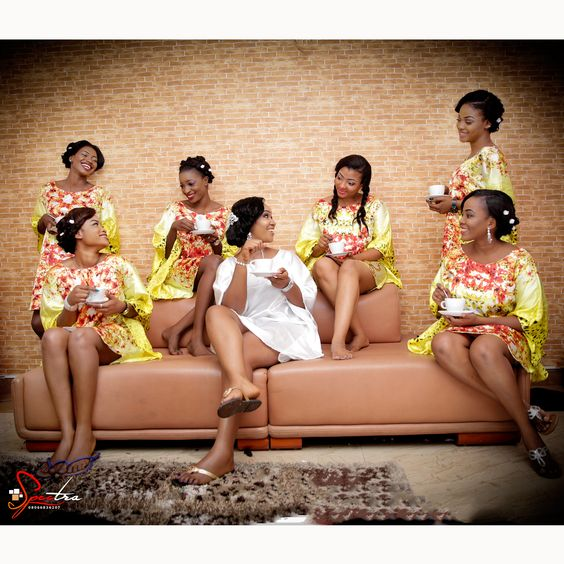 Nigerian Wedding Alternatives to bridal robes LoveWeddingsNG 6