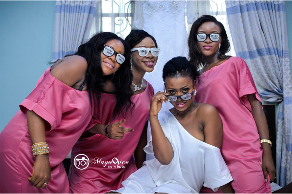 Nigerian Wedding Alternatives to bridal robes LoveWeddingsNG