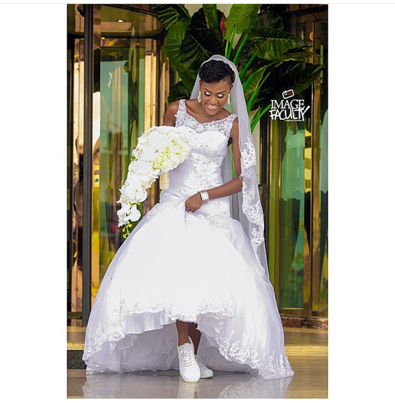 Nigerian Wedding Trend 2015 - Bridal Sneakers LoveweddingsNG