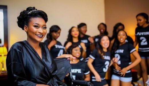 Nigerian Wedding Trends 2015 - Bride and Bridesmaids in Sportswear LoveweddingsNG