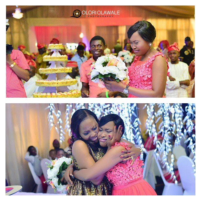 Nigerian Wedding Trends 2015 - Bride not tossing bouquet Olori Olawale