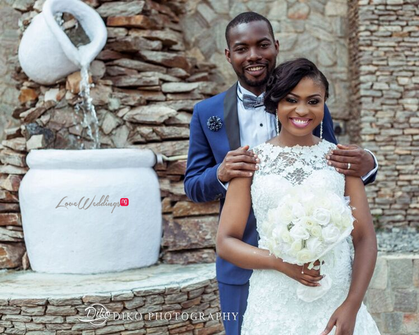 Nigerian White Wedding - Oluwadamilola and Olorunfemi LoveweddingsNG Diko Photography 10