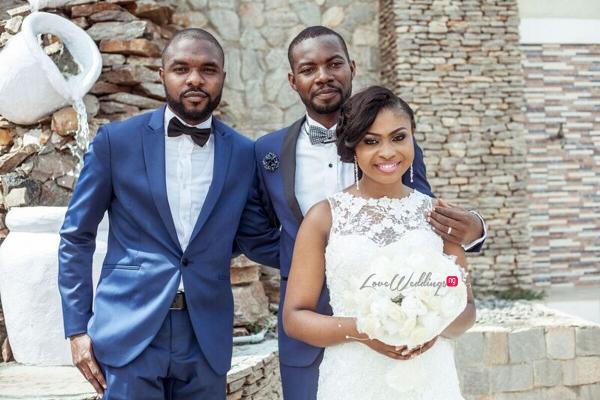 Nigerian White Wedding - Oluwadamilola and Olorunfemi LoveweddingsNG Diko Photography 11