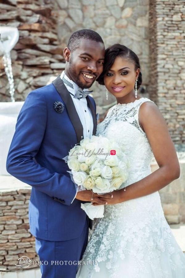 Nigerian White Wedding - Oluwadamilola and Olorunfemi LoveweddingsNG Diko Photography 12
