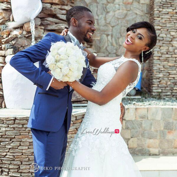 Nigerian White Wedding - Oluwadamilola and Olorunfemi LoveweddingsNG Diko Photography 13