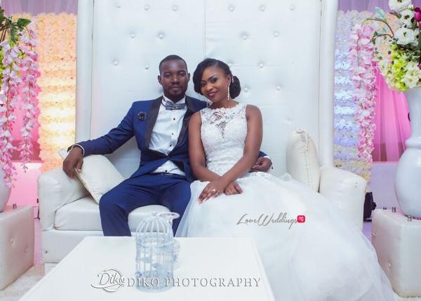 Nigerian White Wedding - Oluwadamilola and Olorunfemi LoveweddingsNG Diko Photography 2
