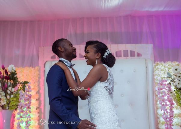 Nigerian White Wedding - Oluwadamilola and Olorunfemi LoveweddingsNG Diko Photography 3