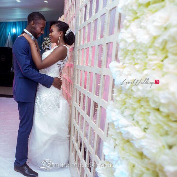 Nigerian White Wedding - Oluwadamilola and Olorunfemi LoveweddingsNG Diko Photography 4