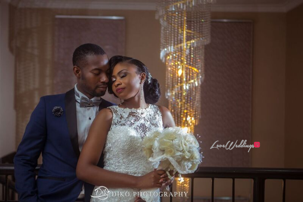 Nigerian White Wedding - Oluwadamilola and Olorunfemi LoveweddingsNG Diko Photography 5
