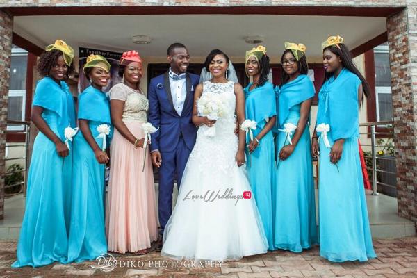 Nigerian White Wedding - Oluwadamilola and Olorunfemi LoveweddingsNG Diko Photography 7
