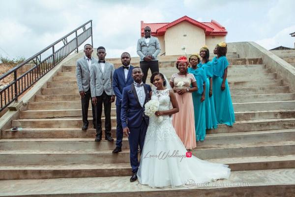 Nigerian White Wedding - Oluwadamilola and Olorunfemi LoveweddingsNG Diko Photography 8