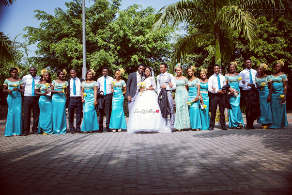 Nigerian White Wedding - Uti and Erasmus Photosuite LoveweddingsNG 25