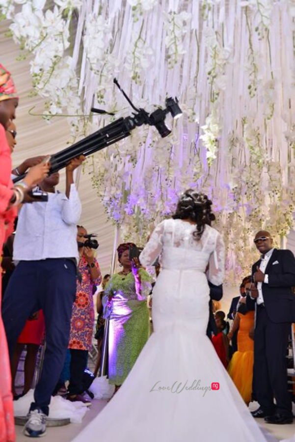 Nigerian White Wedding - Wonuola and Mayokun LoveweddingsNG 11