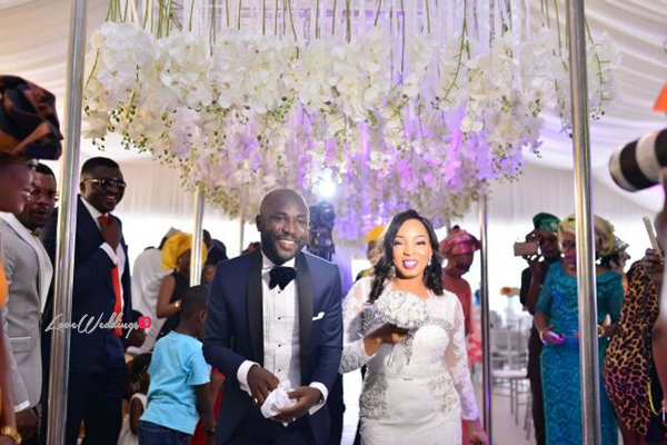 Nigerian White Wedding - Wonuola and Mayokun LoveweddingsNG 12