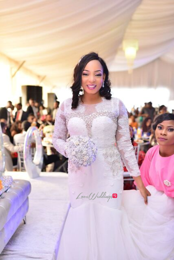 Nigerian White Wedding - Wonuola and Mayokun LoveweddingsNG 17