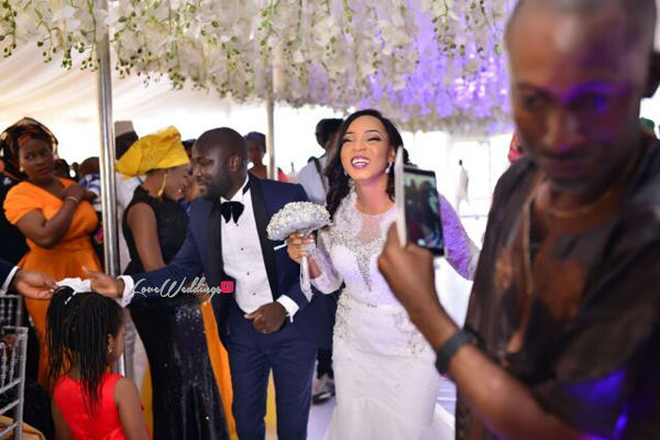 Nigerian White Wedding - Wonuola and Mayokun LoveweddingsNG 35