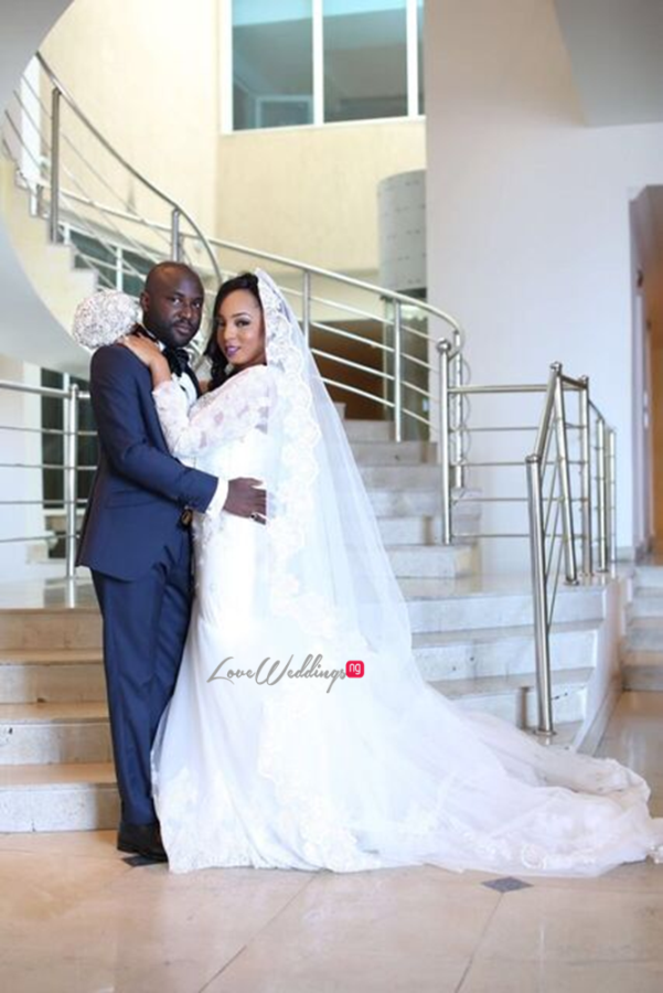 Nigerian White Wedding - Wonuola and Mayokun LoveweddingsNG 9