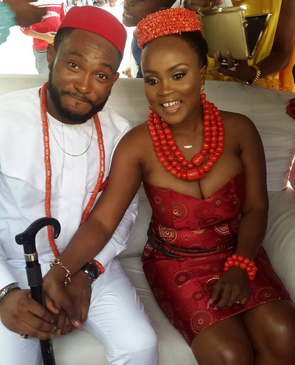 Nollywood Blossom Chukwujekwu traditional wedding LoveweddingsNG 1