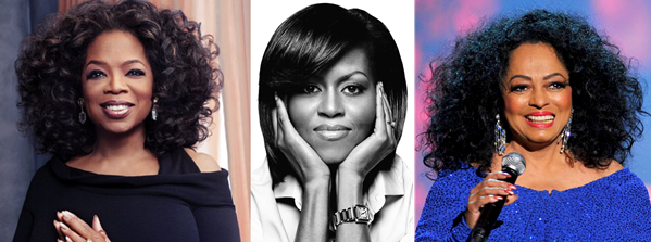 Oprah Winfrey, Michelle Obama and Diana Ross - LoveweddingsNG