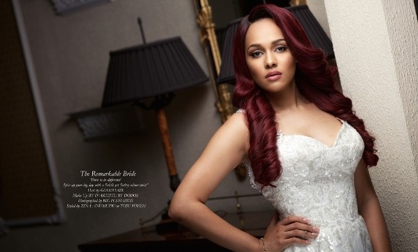 Tania Omotayo Good Hair Christmas Editorial LoveweddingsNG