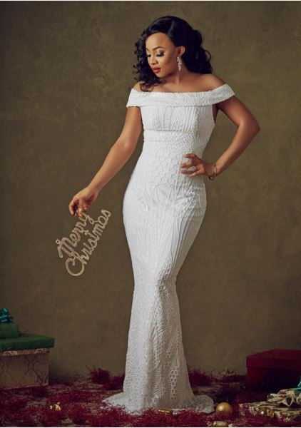 Toke Makinwa Christmas 2015 LoveweddingsNG 1