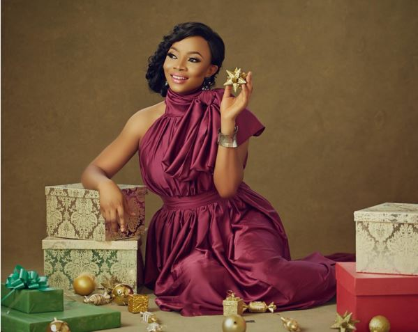 Toke Makinwa Christmas 2015 LoveweddingsNG 2