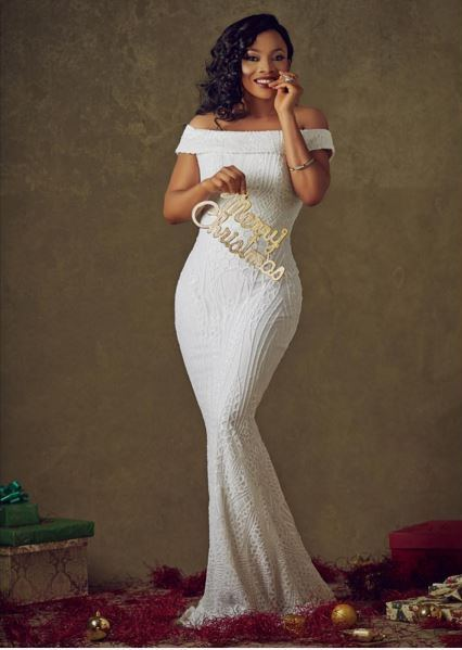 Toke Makinwa Christmas 2015 LoveweddingsNG